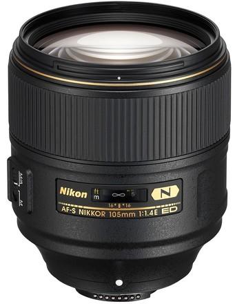 Nikon 105mm f/1,4 AF-S E ED