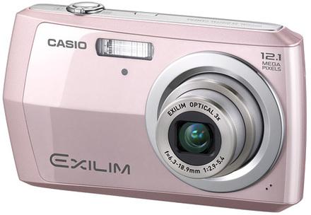 Casio EXILIM Z16 růžový