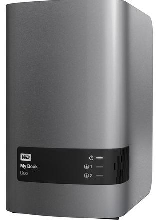 "Western Digital My Book Duo 4TB, 3.5"" USB 3.0, šedý"