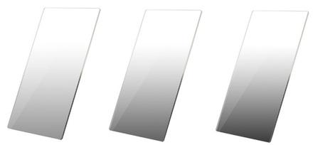 Haida set 100x150 přechodových ND filtrů PROII  0,3 + 0,6 + 0,9 jemný