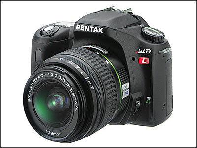 Pentax *ist DL + 18-55 mm