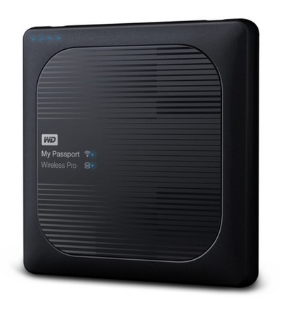 "Western Digital My Passport Wireless Pro 2TB, 2.5""USB 3.0, černý"