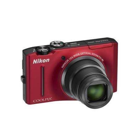 Nikon CoolPix S8100 červený