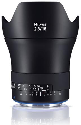 Zeiss Milvus 18mm f/2,8 ZE pro Canon