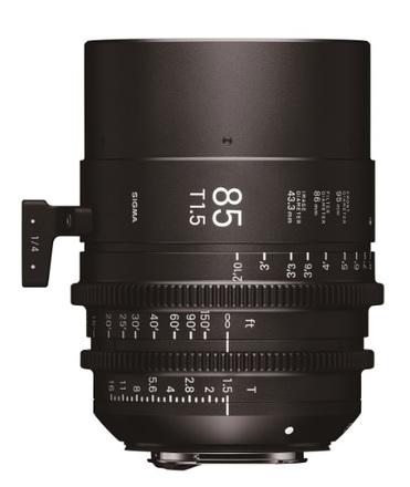 Sigma CINE 85mm T/1,5 pro Canon