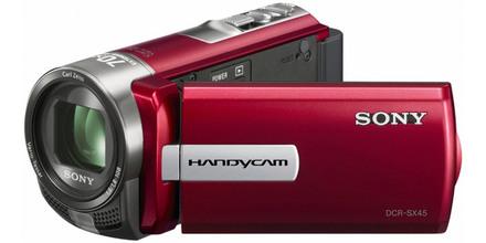 Sony DCR-SX45E červená