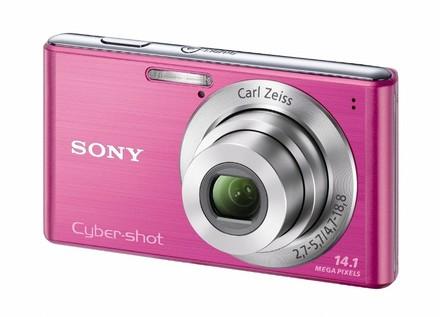 Sony CyberShot DSC-W530 růžový