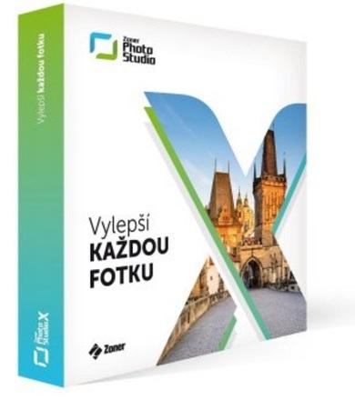 Zoner Photo Studio X - krabicová verze s licencí na 1 rok pro 1 uživatele