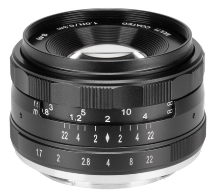 Meike MK 35mm f/1,7 pro Micro 4/3