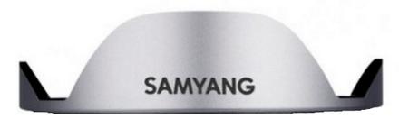 Samyang sluneční clona pro 7,5mm f/3,5 a T/3,8 stříbrná