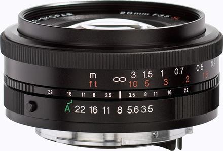 Voigtlander Color Skopar 20mm f/3,5 SL II Asph. EOS pro Canon
