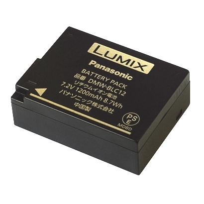 Panasonic akumulátor DMW-BLC12 bulk verze
