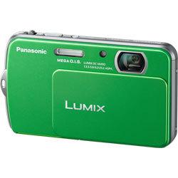 Panasonic Lumix DMC-FP5 zelený