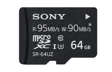 Sony Micro SDXC 64GB Class 10 UHS-I U3 PROFESSIONAL