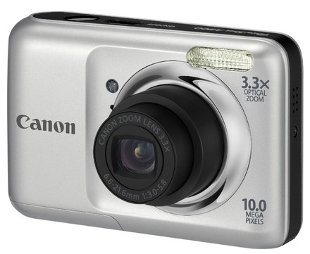 Canon PowerShot A800 stříbrný