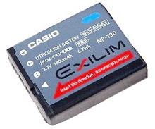 Casio NP 130 akumulátor