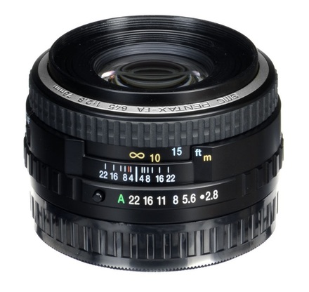 Pentax SMC FA 645 75mm f/2,8