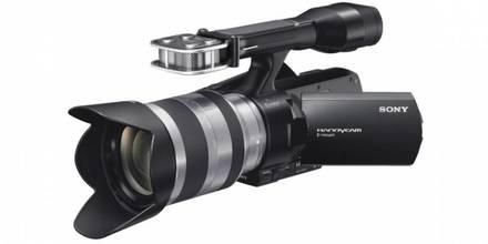 Sony NEX-VG20EHB + 18-200 mm
