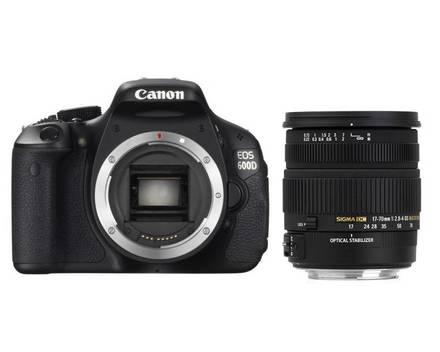 Canon EOS 600D + Sigma 17-70 mm F 2,8-4,0 DC Macro HSM OS!