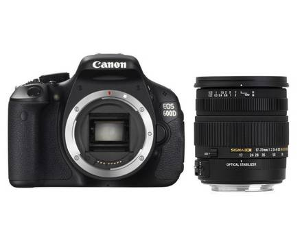 Canon EOS 600D + Sigma 17-70 mm F 2,8-4,0 DC Macro HSM OS!