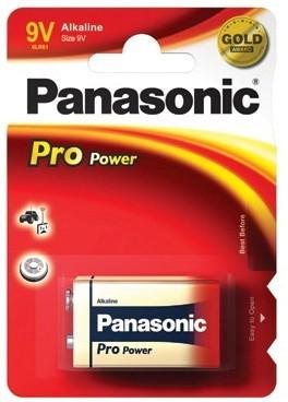 Panasonic Alkalické baterie Pro Power 9V 1ks