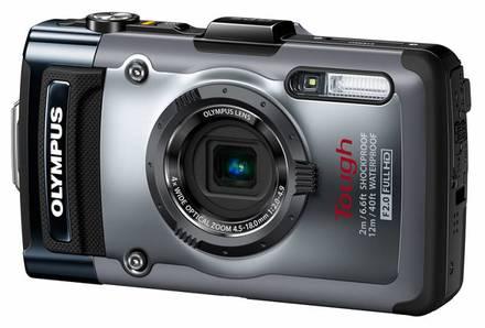 Olympus TG-1 stříbrný + 16GB Ultra karta + pouzdro 70M + plovoucí poutko!