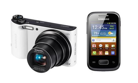 Samsung WB150F bílý + telefon Galaxy Pocket!