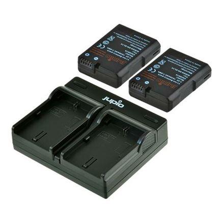 Jupio Kit 2x EN-EL14-A + USB Dual Charger pro Nikon