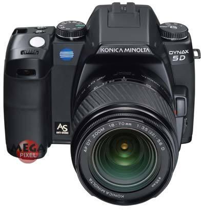Konica Minolta Dynax 5D + AF DT 18-70 /F3,5-5,6 + 75-300