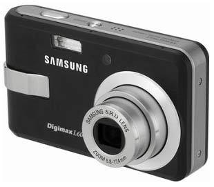 Samsung Digimax L60 černý