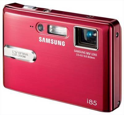 Samsung i85 červený