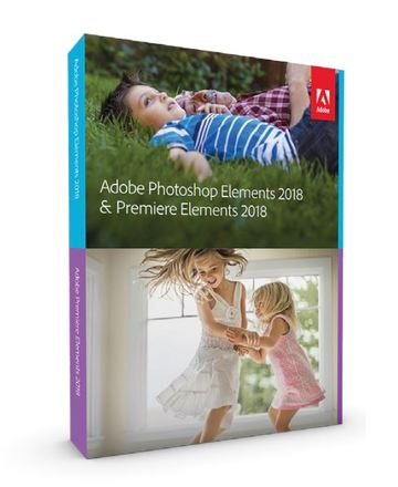 Adobe Photoshop Elements + Premiere Elements 2018 WIN CZ FULL Box