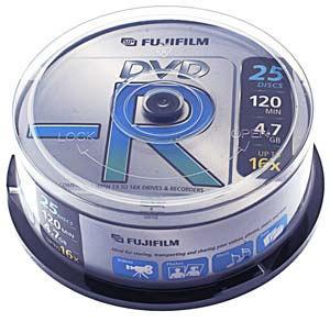 Fujifilm DVD-R 4,7GB  25ks