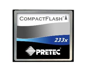 Pretec CF 4 GB 233x
