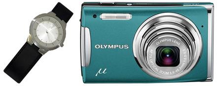 Olympus Mju 1060 zelený