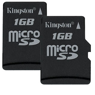 Kingston micro SD 2x 1 GB