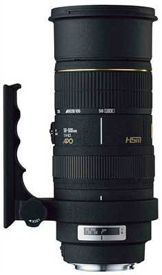 Sigma 50-500 mm F 4,0-6,3 APO EX DG pro Olympus + utěrka Sigma zdarma!