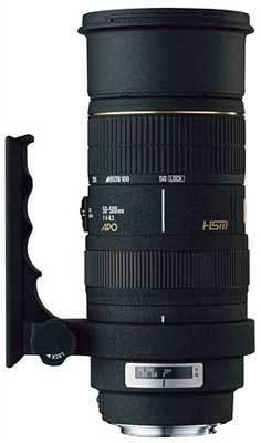 Sigma 50-500 mm F 4,0-6,3 APO EX DG HSM pro Canon + utěrka Sigma zdarma!
