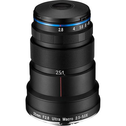 Laowa 25mm f/2.8 2.5-5X Ultra-Macro pro Nikon F