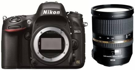 Nikon D600 + Tamron 24-70 mm!