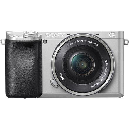 Sony Alpha A6300 + 16-50 mm stříbrný + stabilizátor + mikrofon - VIDEO ZAČÁTEČNÍCI SONY
