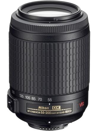 Nikon 55-200mm f/4,0-5,6G AF-S IF-ED DX VR