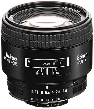 Nikon 85mm f/1,8 AF NIKKOR D A s HN-23