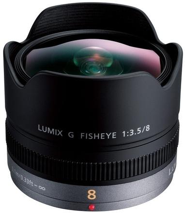 Panasonic Lumix G Fisheye 8mm f/3,5