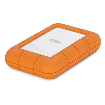 """LaCie Rugged RAID Pro 4TB HDD, 2.5"""" USB 3.1 Type C, hliníkový, odolný"""