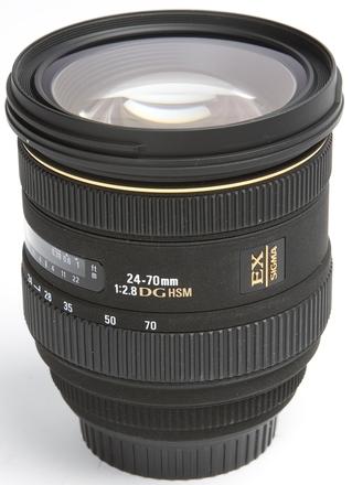 Sigma 24-70mm f/2,8 IF EX DG HSM pro Nikon