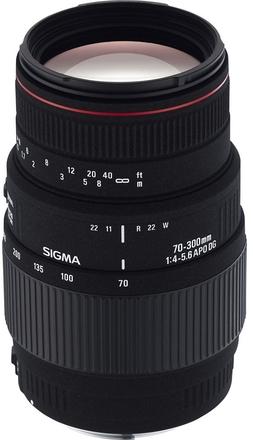Sigma 70-300mm f/4,0-5,6 APO DG MACRO pro Sony