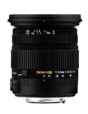 Sigma 17-50mm f/2,8 EX DC OS HSM pro Nikon