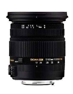 Sigma 17-50mm f/2,8 EX DC OS HSM pro Canon
