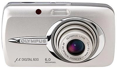 Olympus Mju 600 Digital stříbrný + Mju digital kit!!!